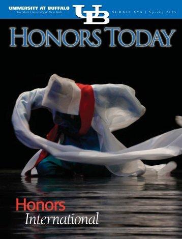 12690 ub honors - University Honors College - University at Buffalo