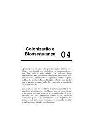 Colonização e Biossegurança 04 - CIB
