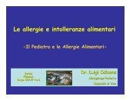 (Microsoft PowerPoint - Allergie Alimentari et\340 pediatrica ... - Aicod