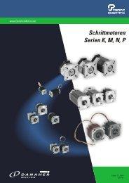 Schrittmotoren Serien K, M, N, P - BIBUS SK, sro