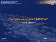 Das Softwaresystem BASEMENT - ETH Zürich