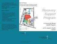 Recovery Support Program - St. Joseph's Health Centre Toronto