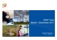 DRM tests Brazil v1 - Digital Radio Mondiale - Brasil