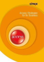 Access-Strategien für Ihr Business - Seceidos GmbH&Co. KG