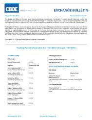Trading Permit Information for 11/01/2012 through 11 ... - CBOE.com