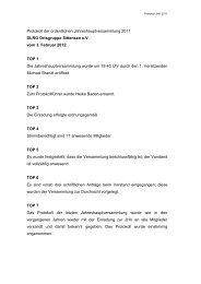 Protokoll der ordentlichen Jahreshauptversammlung 2010 - DLRG ...