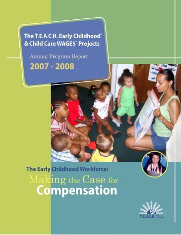 TEACH annual report_08.indd - Child Care Services Association