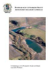 Dammar och våtmarker för ett ekologiskt hållbart samhälle ...