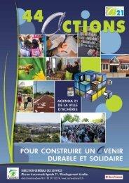 Objectifs Agenda 21 (pdf - 4,04 Mo) - Achères