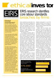 ethicalinves t o r - Eiris