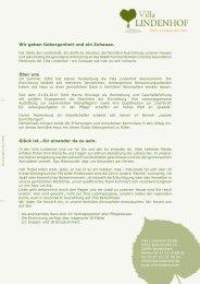 Download Infopaket Villa Lindenhof
