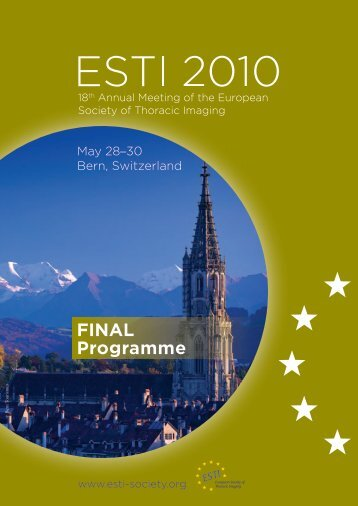programme and book of abstracts - myESTI.org
