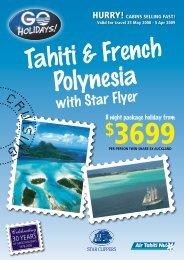 with Star Flyer - Bon Voyage Cruises & Travel