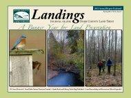 Landings- Spring 2013 (3.2 mb) - Door County Land Trust