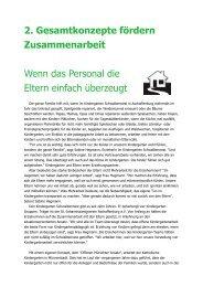 2. Gesamtkonzepte fördern Zusammenarbeit - Bistum Würzburg