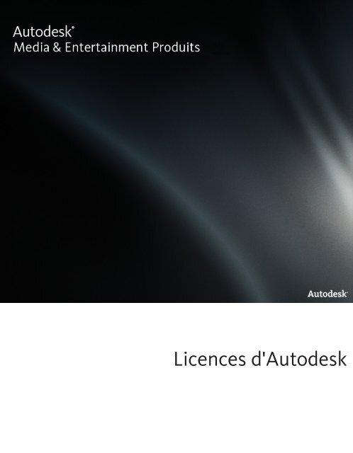Licences d'Autodesk