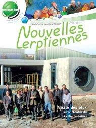 Visite des élus - Ville de Saint Genest Lerpt