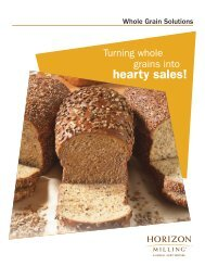 Whole Grain Solutions Brochure - Cargill Foods
