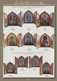 Tri Fold Wood Look Plaque - Christian Supplies