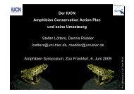 Regionale ACAPs - Zoo Frankfurt