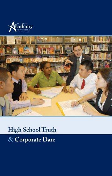 High School Truth & Corporate Dare - National Academy Foundation