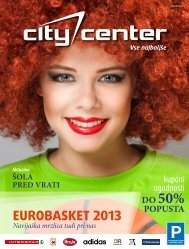 Avgust 2013 - Citycenter Celje