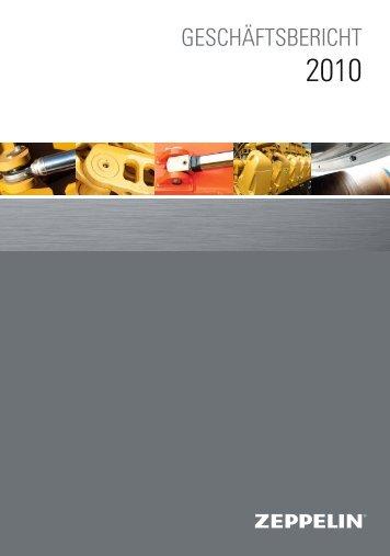 Geschäftsbericht 2010 - ZEPPELIN GmbH