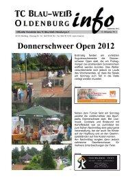 Donnerschweer Open 2012