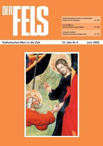 Juni 2002 - Der Fels
