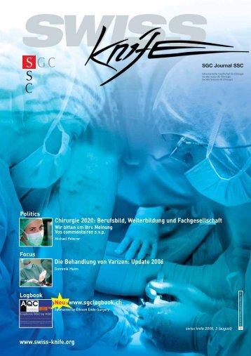 Chirurgie 2020: Berufsbild, Weiterbildung und ... - SWISS KNIFE