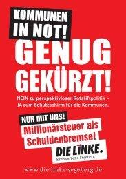 IN NOT! - Die Linke, Kreisverband Segeberg