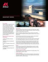 ROCKPORT WORKS - AK Steel