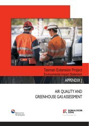 appendix j air quality and greenhouse gas assessment air quality ...