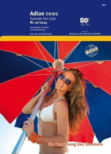 Family news - Hotel Adlon Riccione