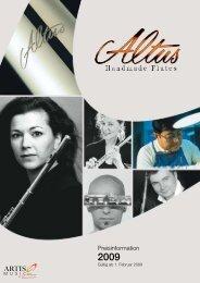 Preisinformation - Altus Flutes
