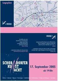 DORFER SCHOR ACHT KU ST - Kulturforum Schorndorf