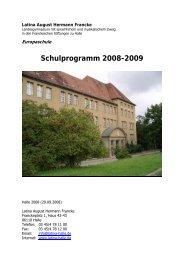 Textversion als pdf - Latina August Hermann Francke
