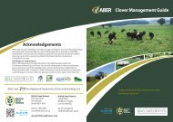 Clover Management Guide - British Seed Houses