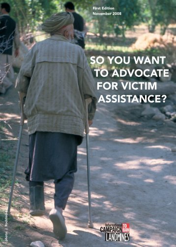 so you want to advocate for victim assistance? - Nra.gov.la