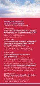Buddhismus und westliche Philosophie im Dialog - Seite 2