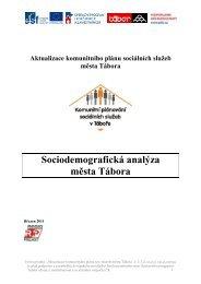 Sociodemografická analýza města Tábora