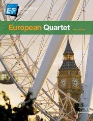 European Quartet 9 or 11 Days - EF Educational Tours