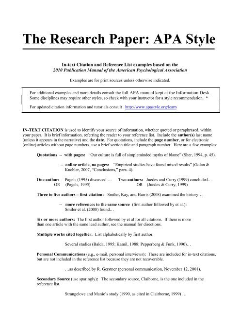 FREE Academic Paper Examples: Essays, Reports, Research Papers