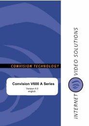 Convision V600 A Series