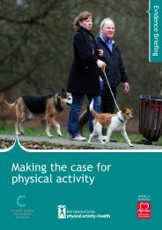 Making the case for physical activity - BHF National Centre ...