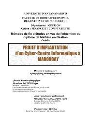 Université d'Antananarivo - Thèses malgaches en ligne