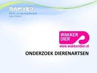 onderzoek van Team Vier - Wakker Dier