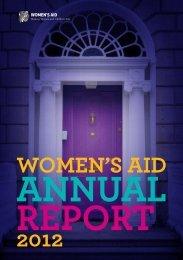 Women's Aid Annual Report 2012