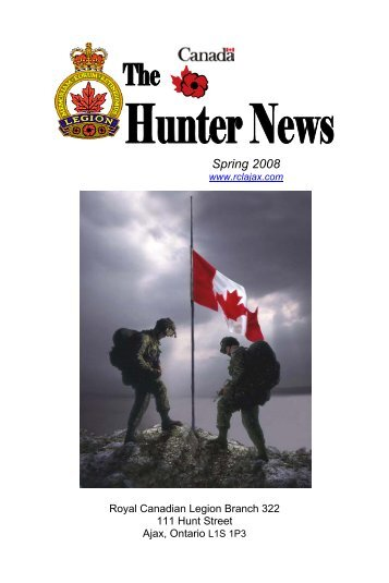 Pages 1-4 - The Royal Canadian Legion - Branch 322 - Ajax