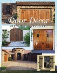 Latest Product Brochure - PH Door Decor